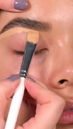 Face Makeup Tips, Eye Makeup Steps, Makeup Eye Looks, Beautiful Eye Makeup, Eye Makeup Art, Contour Makeup, Eyebrow Makeup, Makeup Videos, Skin Makeup