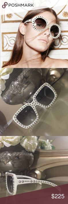 Gorgeous prada sunglasses Preloaded prada sunglasses. In perfect condition. Authentic. Do not come with box. If you have any questions please let me know . Thank you Prada Accessories Glasses