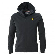 Men's Ferrari Shield Hoodie Sweatshirt - Ferrari Store