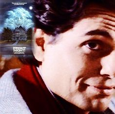 """""""Hello, Edward. You don't have to be afraid of me. I know what it's like being different. Only they won't pick on you anymore... or beat you up. I'll see to that. All you have to do is take my hand."""" Fright Night, 1985. Director, writer: Tom Holland. Stars: Chris Sarandon, William Ragsdale, Amanda Bearse, Roddy McDowall."""