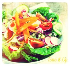 Tone It Up! Blog - Your HAPPY ☀ Spring Salad! www.toneitup.com