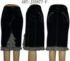 J55877-F | www.lafeinier.ru | Компания LAFEI-NIER - Женская джинсовая одежда