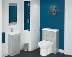 Form: The Perfect Compact Bathroom Furniture - If you're looking to make over a cloakroom or en-suite, or even just a small bathroom, it can often be hard to find storage units that fit with some space to spare. Our Form range of modular units is compact bathroom furniture with style. This range is perfect for saving space in smaller rooms, and still providing a bit of interior design flair!