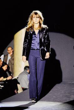 Gucci Fall 1995 Ready-to-Wear Fashion Show - Kate Moss