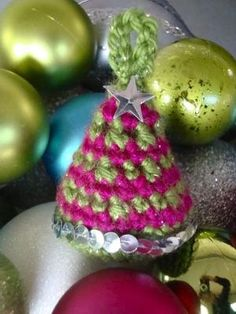 Free pattern: christmas ornament by nikki