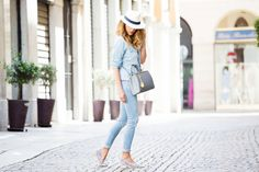DENIM TOTAL LOOK IDEE OUTFIT - FASHION BLOGGER