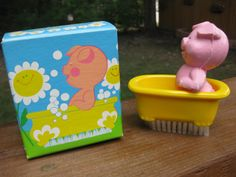 1970's avon soaps | Avon Pig In A Tub Soap Nail Brush New In by sistersfuntreasures