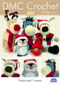 BOOFLE and Friends Christmas DMC Crochet Pattern Booklet 14941L/2