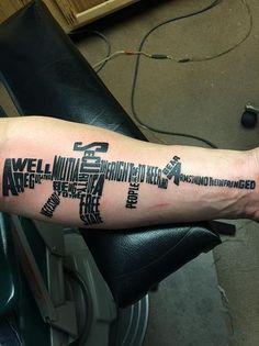 bg 39 s new tattoo hello pinterest tattoo brantley gilbert and tatting. Black Bedroom Furniture Sets. Home Design Ideas