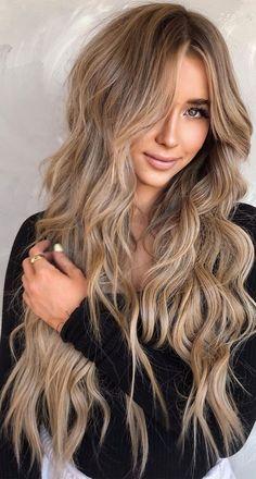 Fall Blonde Hair, Dark Blonde Hair Color, Blonde Hair Looks, Brown To Blonde, Blonde Hair On Brunettes, Blond Hair Colors, Blonde Hair With Brown Highlights, Beige Hair Color, Color Highlights