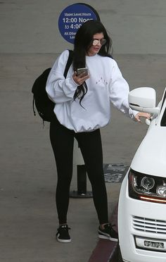 Kylie Jenner 7/8/16 … Clothing, Shoes & Jewelry - Women - leggings outfit for women - http://amzn.to/2kxu4S1