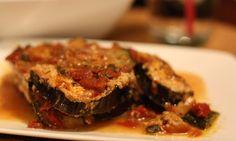 Tanya Zuckerbrot's Fiber Factor Eggplant lasagna