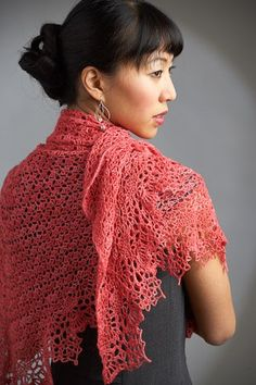 This gorgeous lace crochet shawl is one of my favorite designs. Dahlia Shawl Crochet-Along!