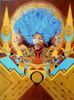 FEATURE: Gian Paolo La Barbera: Psychedelic Soul Art - AFROPUNK