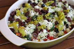 Greek Salad Layered Dip recipe 2