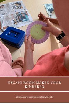 Escape room voor kinderen zelf maken : enkel tips en ideetjes Escape Room Puzzles, Activities For Kids, Kids Room, Dutch, Tips, Blog, Winter, Room Kids, Dutch Language