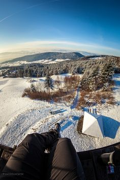 Morning coffee taste better ;),  Island Beskids, Poland