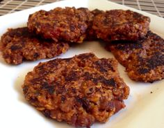 I have had mad cravings for a burger. Luckily, playing off the idea of the risotto cakes and the chili being the special of the month at the clinic and I had an idea. Now I recommend playing around…