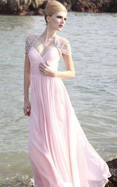 Kurze Ärmeln formelles glamouröses Abendkleid mit Pailletten mit Mitte Rücken
