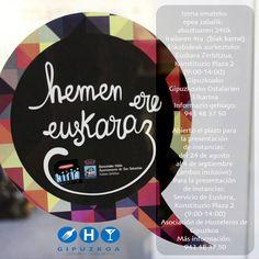 Objetivo: lograr la competencia lingüística para atender a la clientela en euskera. @Ayto_SS @FomentoSS @HostGipuzkoa