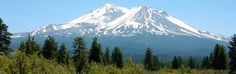 Shasta, North of Redding, CA I can see this from my house Mount Shasta California, Redding California, Mount Rainier, My House, To Go, Mountains, Aunt, Nature, Beautiful Places