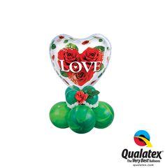 Dites le avec des ballons ! #qualatex #ballon #balloon #love #amour #coeur #heart #rose #stvalentin #valentinesday