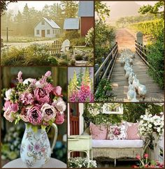 love for nature and design Beautiful Collage, Beautiful Flowers, Beautiful Pictures, Pretty Images, Colour Pallete, Color Schemes, Collages, Montreal Botanical Garden, Decoupage