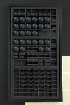 """Strate II: Louise Nevelson and Isabelle Cornaro"""" Galerie Lausanne Louise Nevelson, Outdoor Sculpture, Modern Sculpture, Abstract Sculpture, Sculpture Art, Found Object Art, Assemblage Art, Black Decor, Wall Sculptures"""