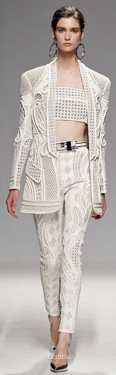 Balmain Spring Summer 2013 Ready to Wear