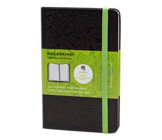 Evernote Classic Notebook by Moleskine...use Evernote's Page Camera to take photos of your writings, upload and search your info.