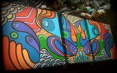 triptico, pintura acrílica. https://www.facebook.com/GoodLifePinturas