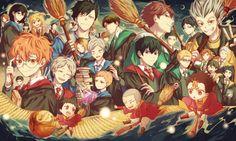 Haikyuu à l'école des sorciers Harry Potter