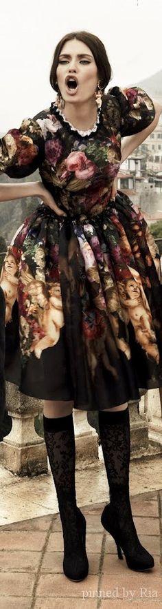 Dolce And Gabbana SS 2014 Ad Campaign l Ria More