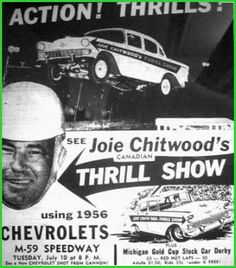 I remember going to the Joie Chitwood Chevy Thunder Show (also know as the Joie Chitwood Thrill Show) as a kid. This was years before I was able to drive and probably not the best thing for a kid who was already salivating at the thought of getting a drivers license someday. That's because these drivers were out-of-their-freaken-mind!