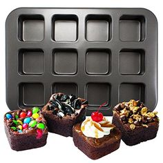 Wilton 2105-0166 12-Cavity Nonstick Square Brownie Bar Pan Wilton http://www.amazon.com/dp/B00K5MTJSM/ref=cm_sw_r_pi_dp_PFsvvb06XAC5X
