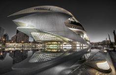 Valencia, Spain (Arts & Sciences Building)