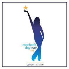 Throw your own party - Official Mother's Day Eve Logo!