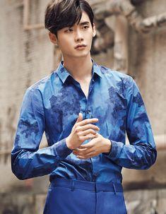 Lee Jong Suk - High Cut Magazine Vol.125