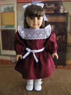 Samantha American girl doll dress