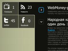 Windows Mobile Phone 7 style.