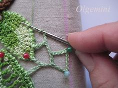 Irish Crochet Tutorial  Even edge uneven motif connection