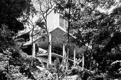 Residência Carmem Portinho, Bairro Jacarepaguá, Rio de Janeiro RJ, 1950. Arquiteto Affonso Eduardo Reidy