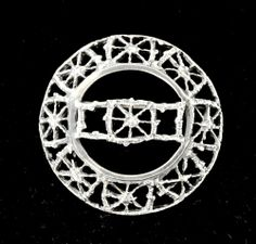 "Pentti Sarpaneva for Turun Hopea, vintage ""Pitsi"" (Lace) silver brooch, Silver Brooch, Brutalist, Finland, Brooches, Vintage Antiques, Scandinavian, Mid Century, Bronze, Brass"