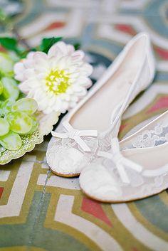 24 Wedding Flats For Comfortable Wedding Party ❤ See more: http://www.weddingforward.com/wedding-flats/ #weddings #shoes