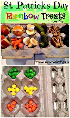 St. Patrick's Day Activities & Rainbow Treats.