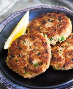 Receitas da Neta: Mini Hambúrgueres de Atum