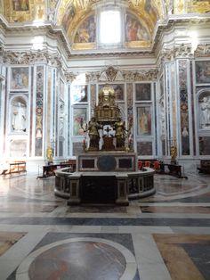 Een mooie ruimte in de Santa Maria Maggiore