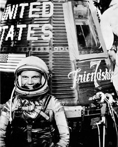 """We are deeply saddened to hear that John Glenn passed away today. As one of the first NASA astronauts, Glenn completed the Friendship 7 mission on February 20, 1962 to become the first American to ever orbit our planet. More than three decades later in 1998, at 77 years of age, he became the oldest person in space when he flew on Discovery mission STS-95. /// """"If there is one thing I've learned in my years on this planet, it's that the happiest and most fulfilled people are those who devote…"""