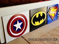 Superhero Bedroom Ideas for Jaden