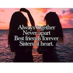 """3,023 Likes, 615 Comments - Bff Quotes (@bff.__.quotes) on Instagram: """"Tag a friend who is like you're sister #bffquotes #sheslikeasister"""""""